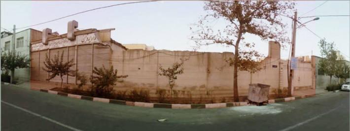 قسمت هاشور خورده - سایت پروژه ( استودیو معماری دیدآ )