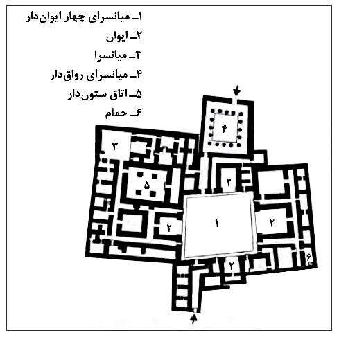 پلان کاخ آشور
