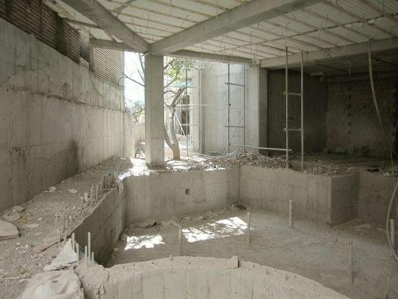 عملیات اجرایی ساخت استخر توسط استودیو معماری دیدآ