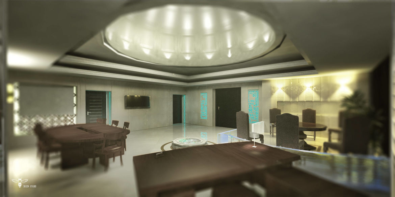 دکوراسیون داخلی دفتر اداری - استودیو-معماری-دیدا