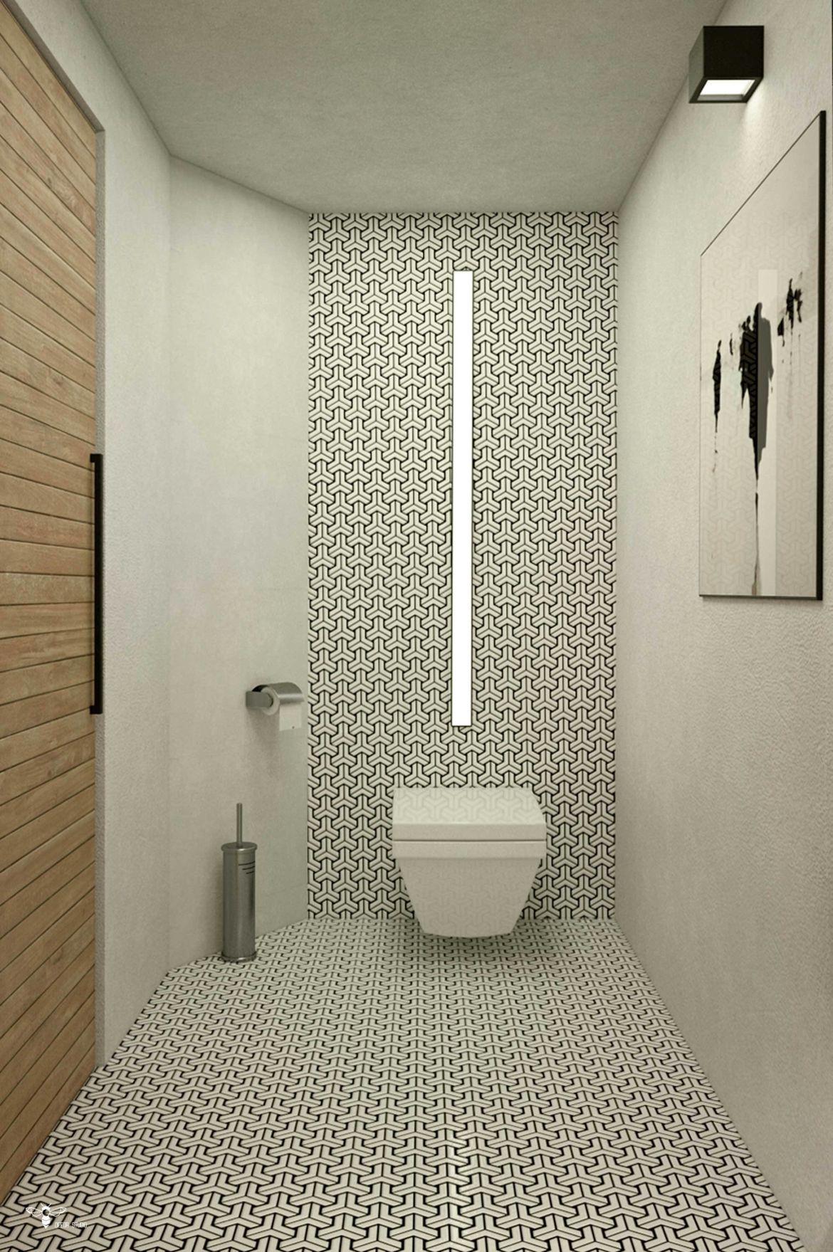 طراحی خاص و مدرن سرویس بهداشتی استفاده از نور خطی طراحی شده توسط استودیو معماری دیدآ