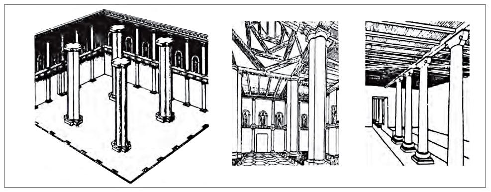 تصاویر سه بعدی از فضاهای درونی کاخ نسا
