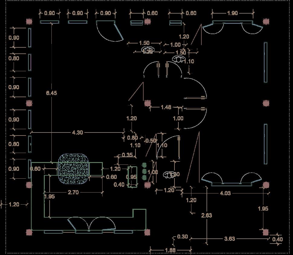 نقشه ی ساخت ویلا در شمال توسط استودیو معماری دیدآ )