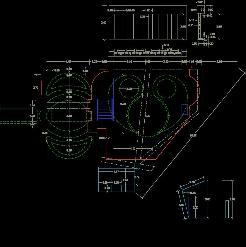 نقشه استخر برج مسکونی