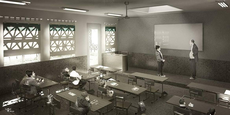 برنامه ی فیزیکی طراحی مدرسه ابتدایی ( استودیو معماری دیدآ )