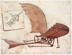 نمونه هايي از طرح هاي لئوناردو داوينچي با الهام از طبيعت