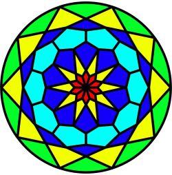 طراحی شیشه ی رنگی (استودیو معماری دیدآ )