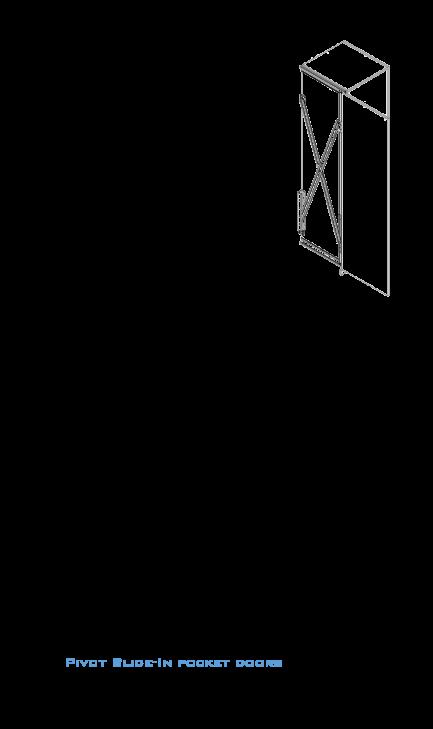 نحوه ی بازشو درب های کابینت آشپزخانه ( استودیو معماری دیدآ )
