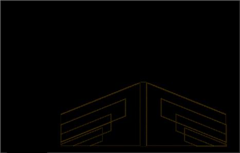 ویترین مغازه پوشاک ( استودیو معماری دیدآ )