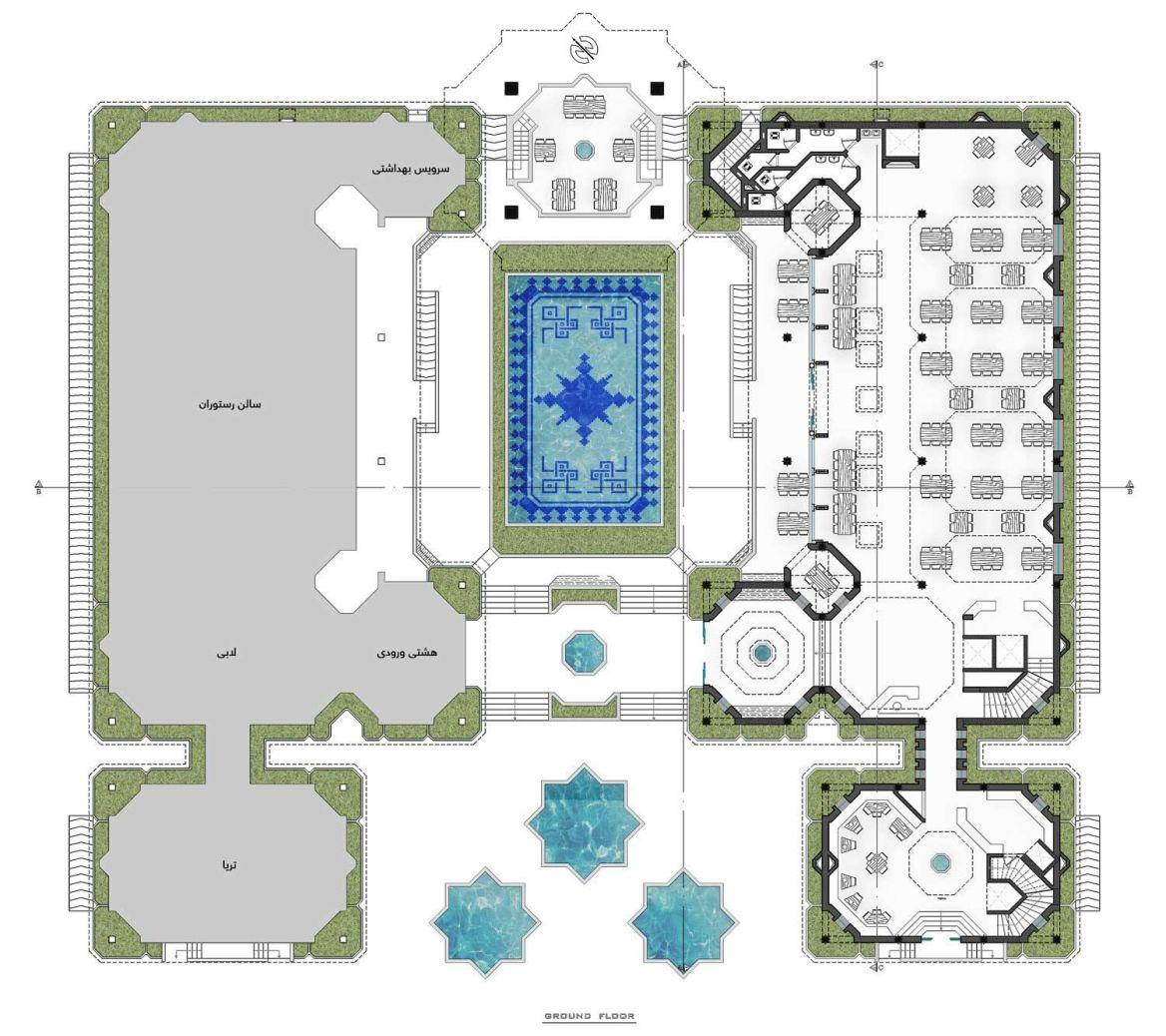 استودیو طراحی دیدآ پلان رستوران های نوای کویر