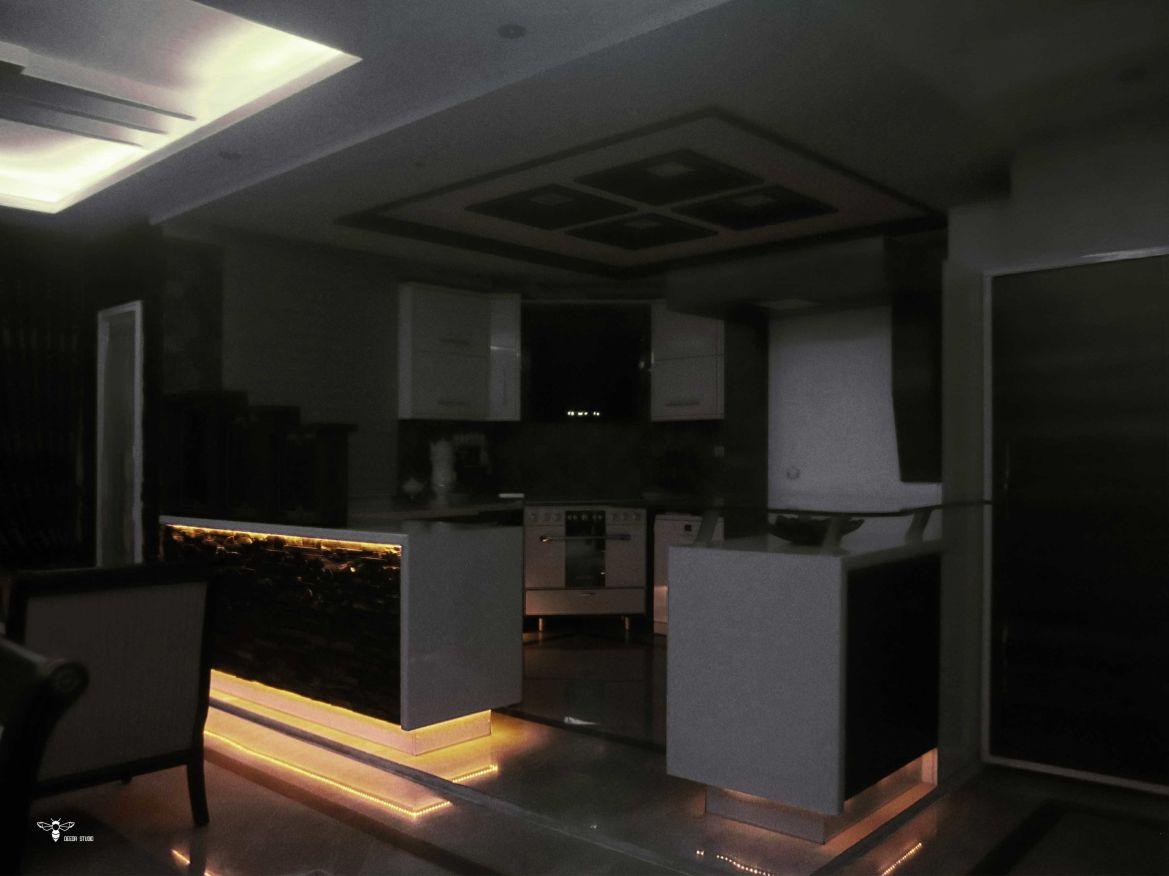 کابینت ام دی اف مدرن ( استودیو معماری دیدا )