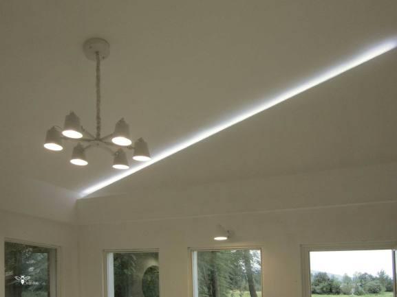 نورپردازی سقفی ویلایی در شمال - استودیو معماری دیدآ