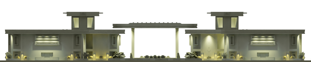 ماکت رستوران نوای کویر طراحی شده توسط استودیو معماری دیدآ