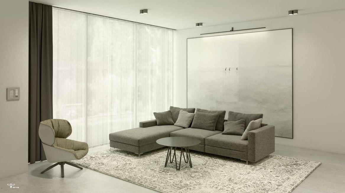 نشیمن در طراحی دکوراسیون داخلی مدرن طراحی شده توسط استودیو معماری دیدآ