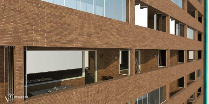طراحی برج مسکونی نگار - تراس ها با طول تقریبی 5.8 متر و عرض 1.4 متر ، فضاییست کامل و کاربردی جهت گذران اوقات زندگی ، صرف غذا ، پخت و پز ( به ویژه جهت عملیات سرخ کردن و کباب ) و ایجاد فضایی سبز و فرح بخش توسط انواع گیاهان . - ایده ی استفاده از پنجره های فولدینگ – اتوبوسی برای تراس ها ( ضمن جلوگیری از کاهش متراژ بنا با سبب ضریب دو سوم تراس ) ، همچنانکه که در فصول سرد تراس را کاملا قابل استفاده می نماید ، از نقطه نظر ماهیتی ، فضای تراس را به عنوان بخشی حیاتی ، پر استفاده و صمیمی در اذهان ساکنین تداعی خواهد نمود وحتی چه بسیار مهمانی های کوچک که بیشتر لحظاتشان در این فضای ویژه