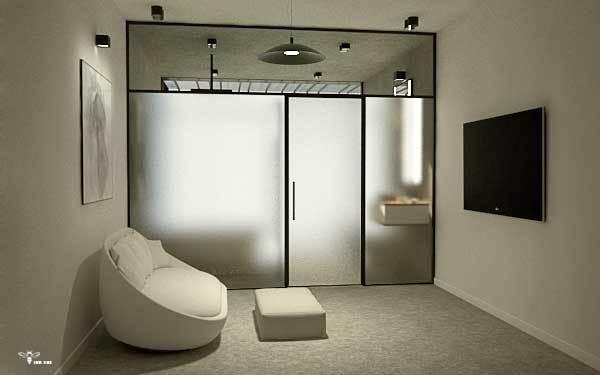 اتاق طراحی شده ی مستر ( استودیو معماری دیدآ )
