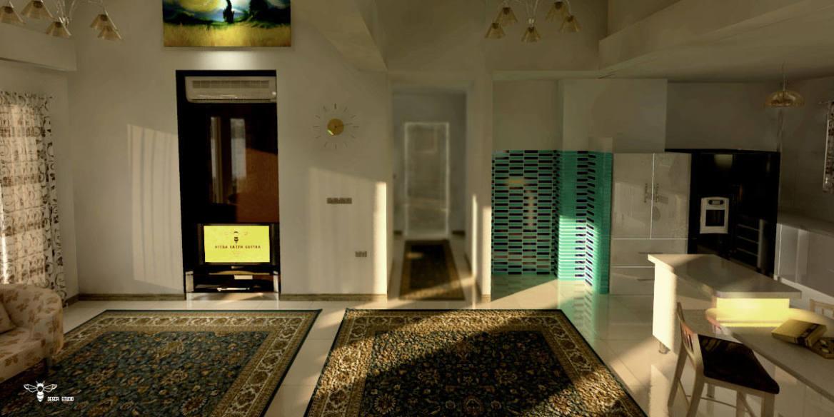 نمونه طراحی ویلا ( ویلای شمال ) - استودیو معماری دیدآ