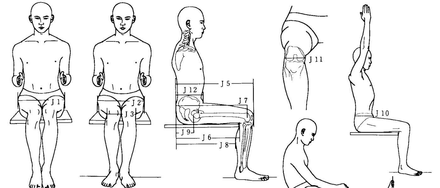 تناسب وسایل کار با ابعاد بدن انسان