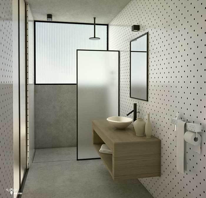 سروی بهداشتی مدرن اتاق فرزند طراحی شده توسط استودیو معماری دیدآ