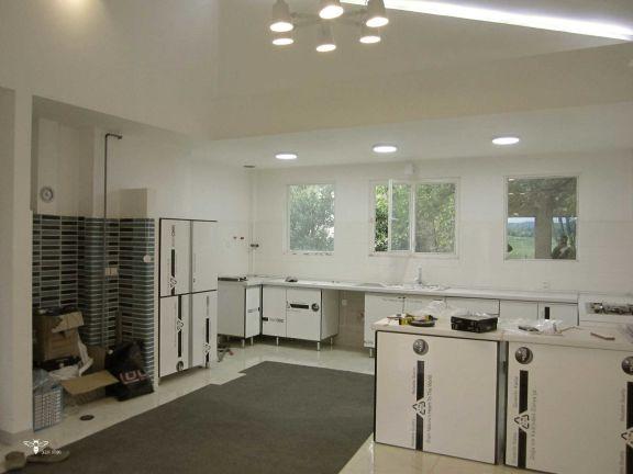 نصب کابینت آشپزخانه ویلایی در رشت - استودیو معماری دیدآ