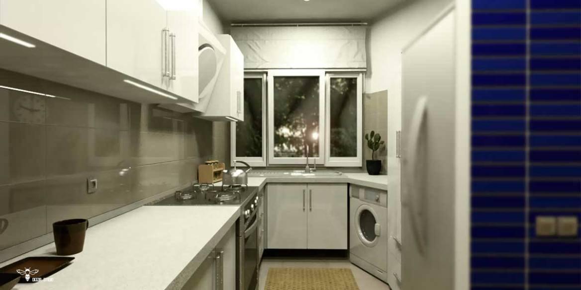طراحی کابینت آشپزخانه در طراحی دکوراسیون داخلی ( استودیو معماری دیدآ )