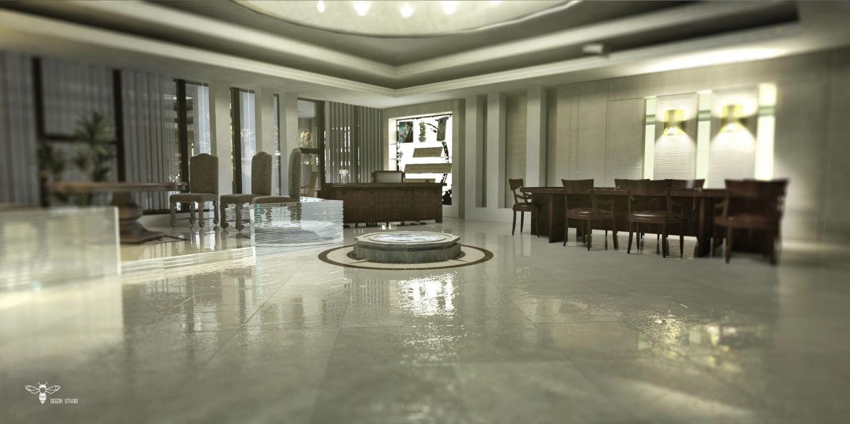 طراحی داخلی دفتر مدیریت ( استودیو معماری دیدآ )