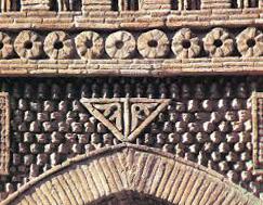 دزفول، محلة قلعه، آجر گل انداز