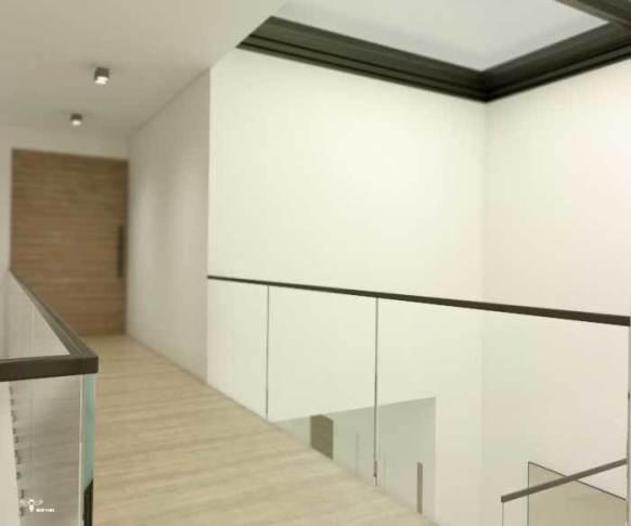 نمایی از سقف وید طراحی شده توسط استودیو معماری دیدآ و فضای بازشو آن