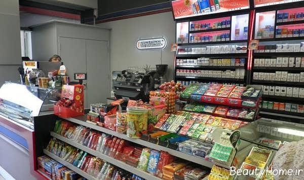 آرایش دیاگرامی یک سوپرمارکت