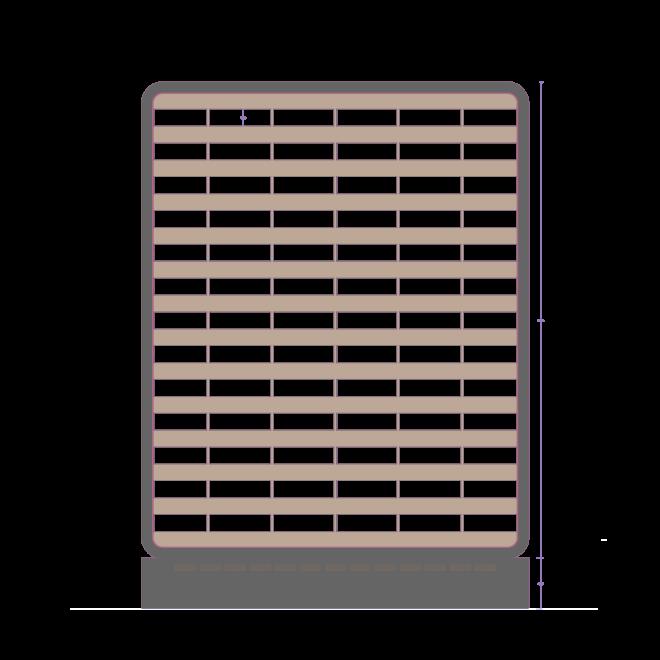 نمای آجری برج مسکونی نگار ( استودیو معماری دیدآ )