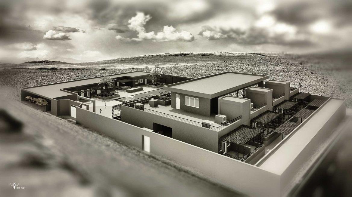 طراحی معماری مدرسه (استودیو معماری دیدآ )
