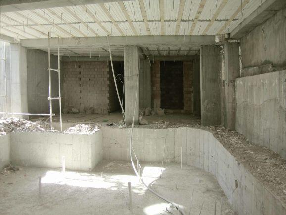 ساخت استخر بتنی توسط استودیو معماری دیدآ