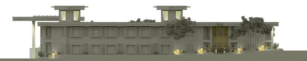 ماکت رستوران نوای کویر توسط استودیو معماری دیدآ