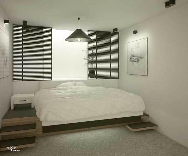 طراحی اتاق مستر مدرن (استودیو معماری دیدآ )