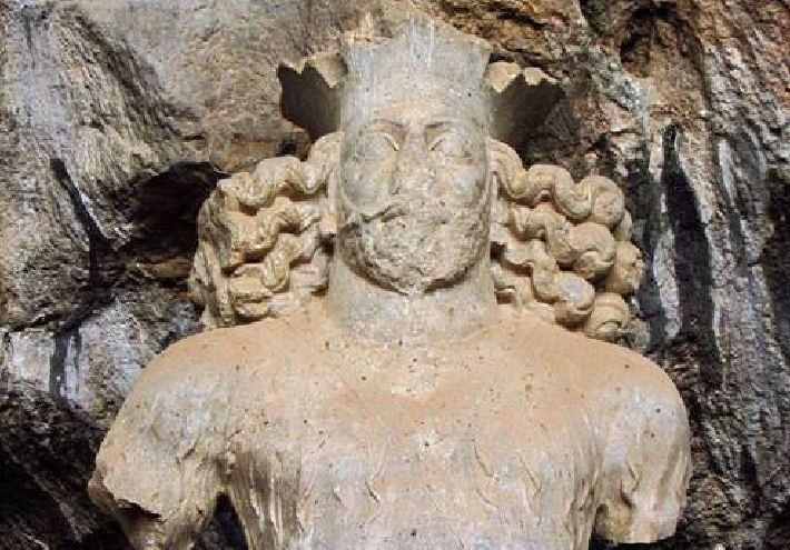 سردیس دوره ساسانیان در جنوب فارس