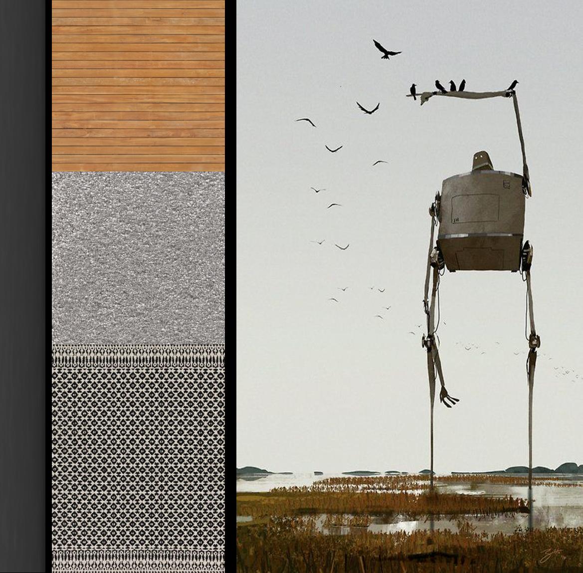 اکسسوری های به کار گرفته شده در پروژه ی معماری خانه ای برای یک خانواده ( استودیو معماری دیدآ )