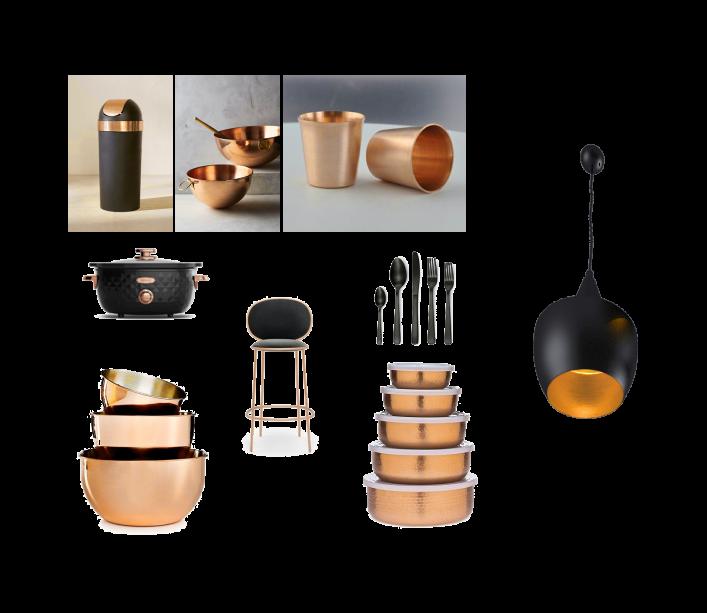 ظروف به کار رفته در آشپزخانه ی مدرن ( استودیو معماری دید )