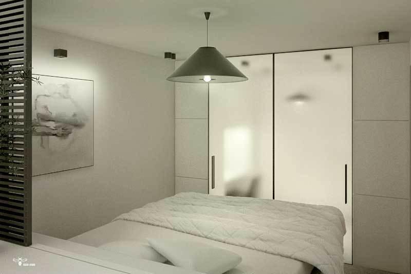 طراحی اتاق مستر و بخش walk - in - closet ( استودیو معماری دیدآ )