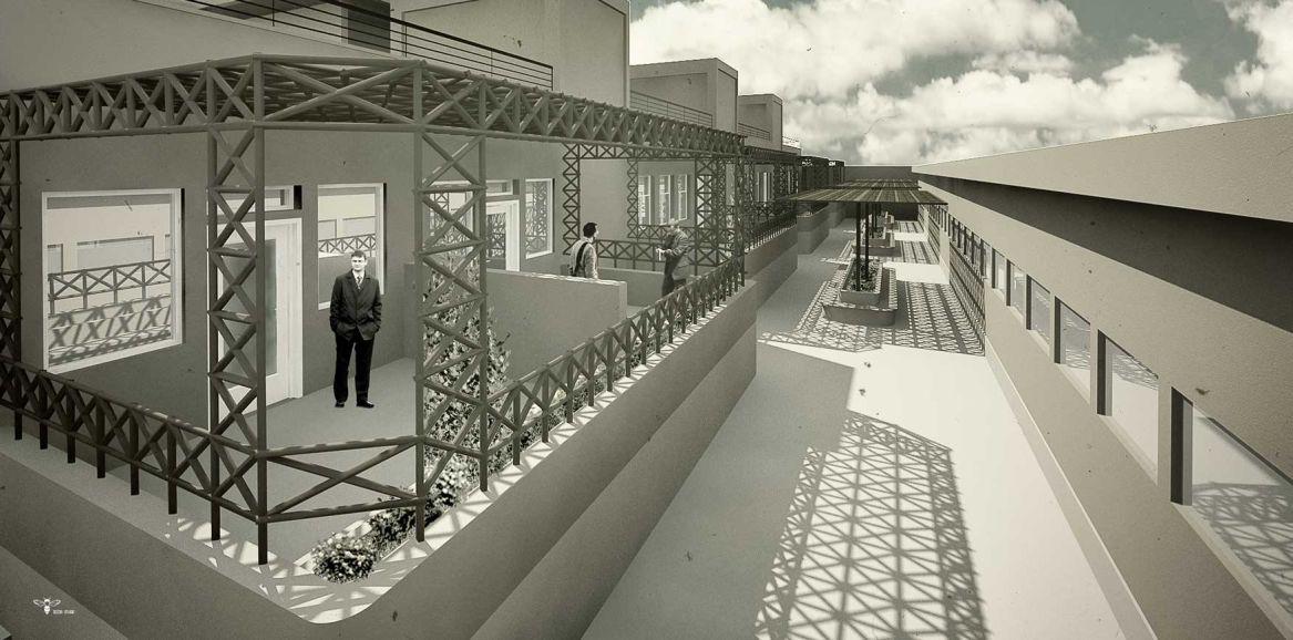 طراحی مدرسه ی ابتدایی ( استودیو معماری دیدآ )