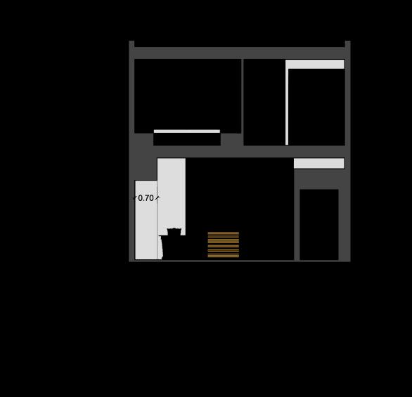 استودیو معماری دیدآ - طراحی معماری - خانه دوبلکس - خانه ایی برای یک خانواده