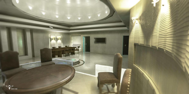 طراحی داخلی دفتر اداری - استودیو-معماری-دیدا