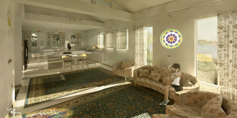 طراحی داخلی منزل ویلایی در رشت - استودیو معماری دیدآ