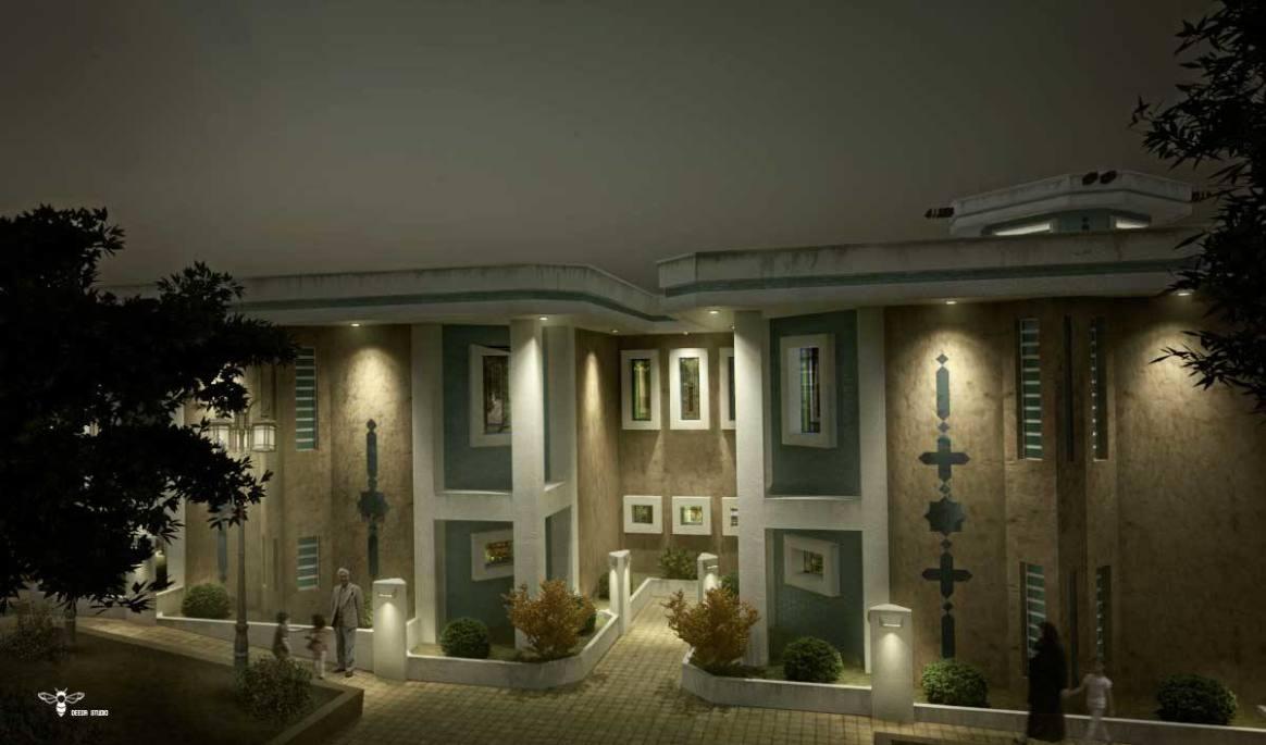 استودیو معماری دیدآ : رستوران های نوای کویر فضای طراحی شده برای گشت و قدم زنی