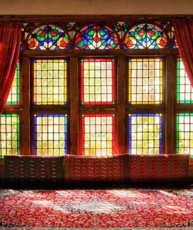 قزوین، آینه کاری حسینیة امینی ها