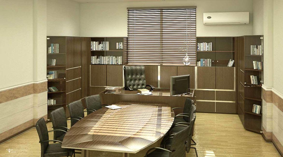 طراحی فایل های اداری و میز مدیریت و کنفرانس ( استودیو معماری دیدا )